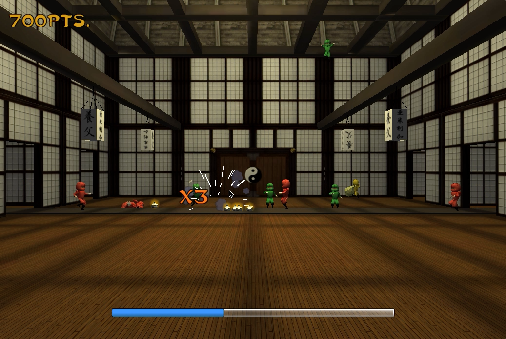 Ninja Gold Rush Now on INDIE DB - OverByte Games