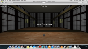 Early Screenshot of Initial Level For Ninja Assembly Line